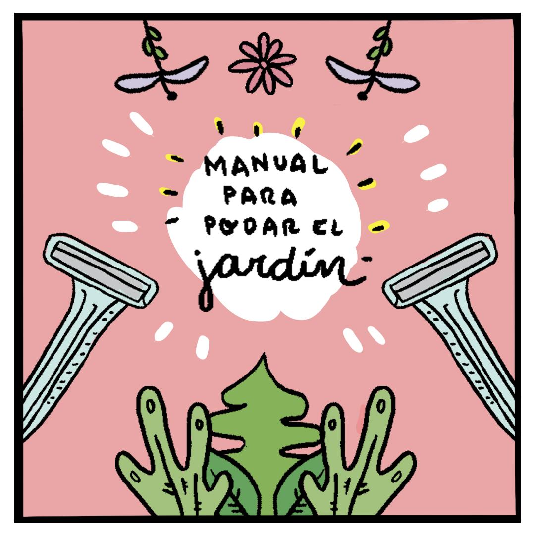 Manual para podar el jardín
